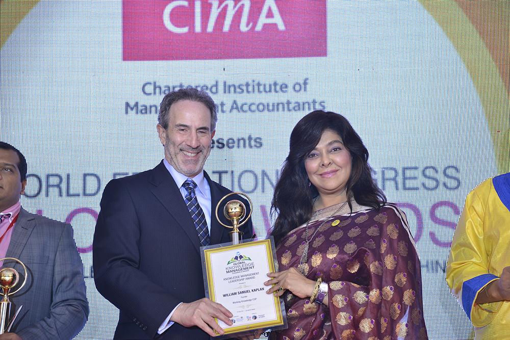 Bill Kaplan receives GKM Award